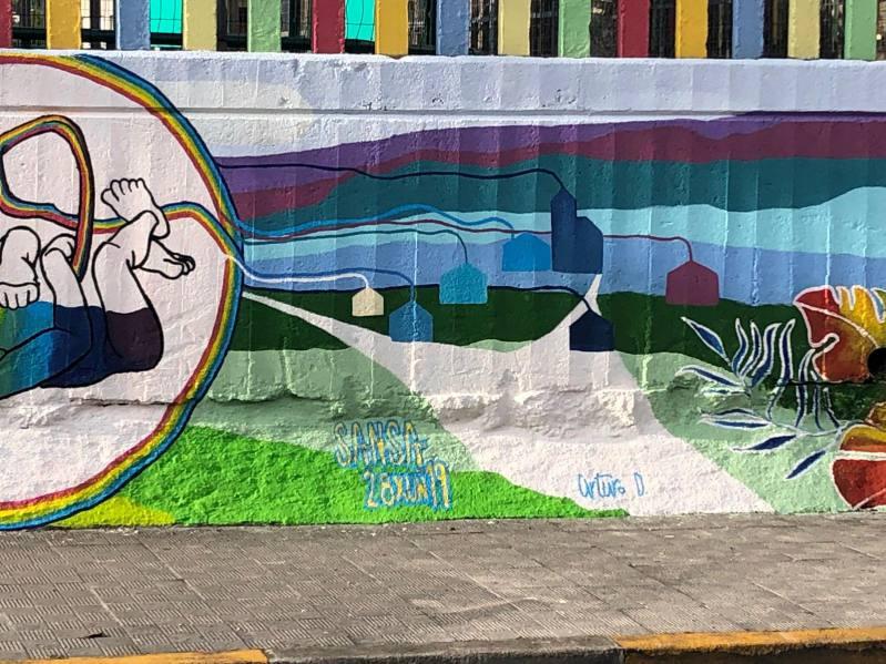 mural diversidad 2019